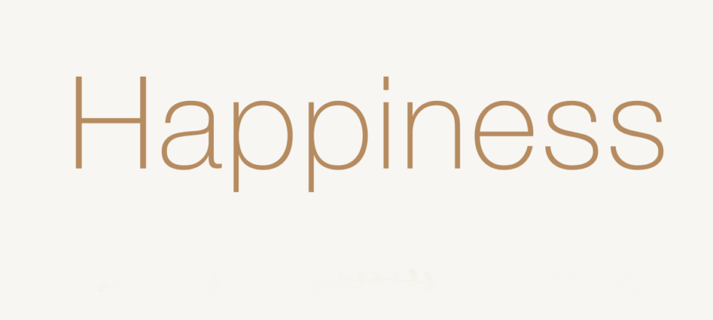 HAPPINESS 770,-