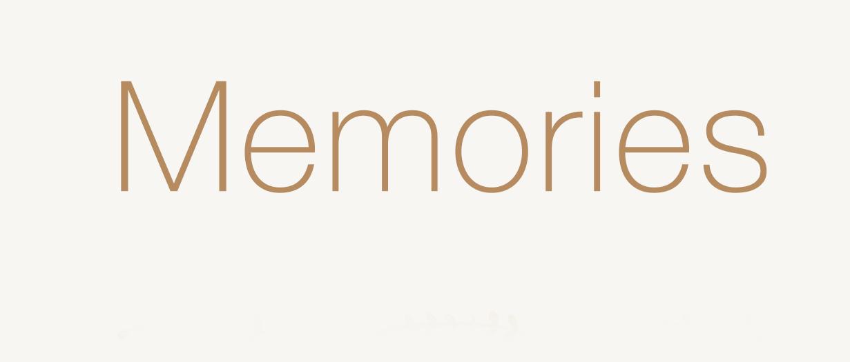 MEMORIES 670,-