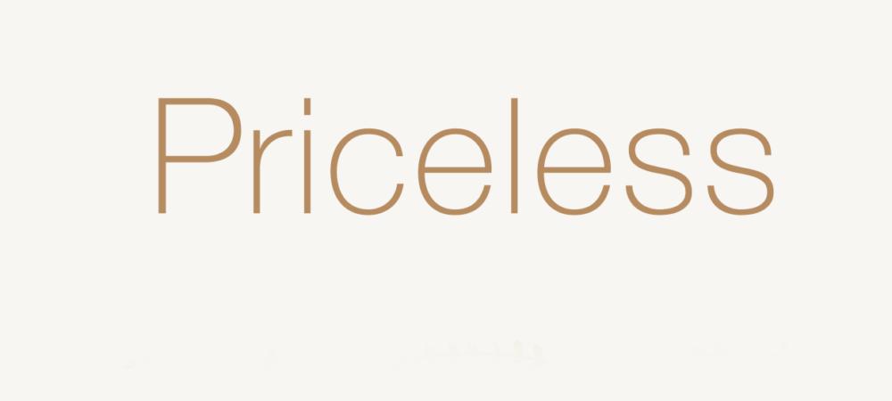 PRICELESS 1150,-